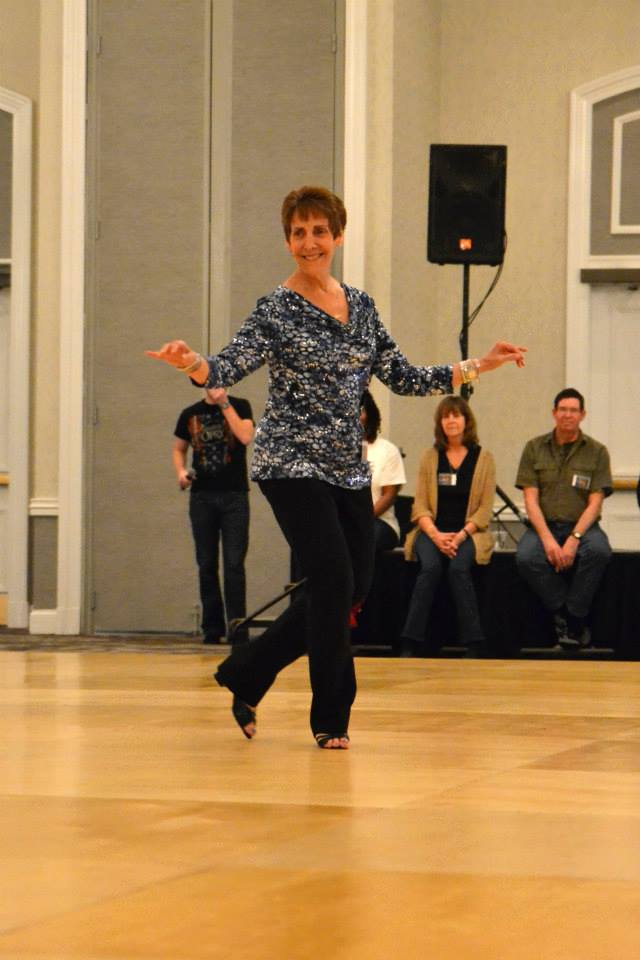 Rona Kaye Line Dance class in Manhattan in New York City